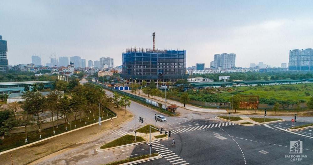 Theo báo cáo khảo sát thị trường bất động sản Hà Nội quý 1 năm 2019 do CBRE công bố ngày 10/4, trong 3 tháng đầu năm nay thị trường chung cư Hà Nội ghi nhận một trong những quý có số lượng mở bán cao nhất với 11.822 căn hộ tại 26 dự án, tăng 46% so với cùng kỳ.