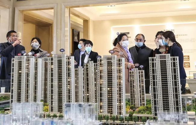 Thị trường bất động sản Trung Quốc phục hồi sau khủng hoảng COVID-19. (Ảnh: Chinadaily)