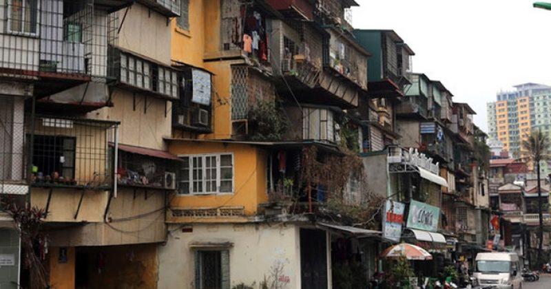 Hà Nội cải tạo 3 khu chung cư cũ trên 'đất vàng' thế nào?