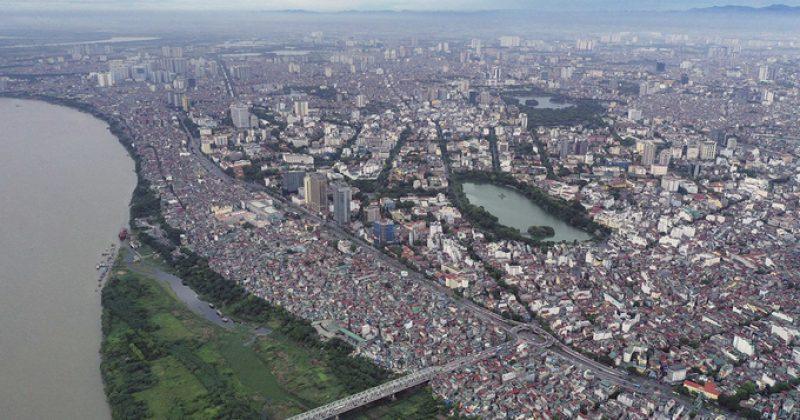 'Hình hài' quy hoạch phân khu đô thị sông Hồng